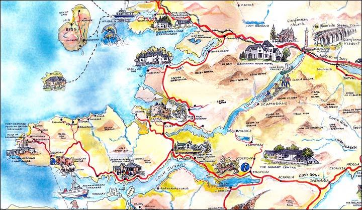 Ardnamurchan scozia - Mappa di ungheria ed europa ...