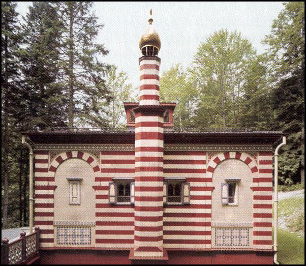 Castello di linderhof for Piani di casa marocchina